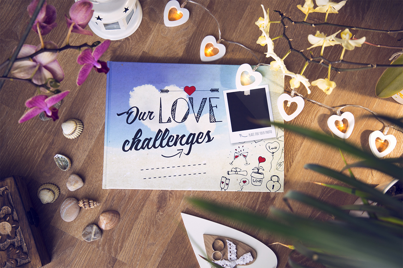 Our Love Challenges - A Book for Couples in Love.